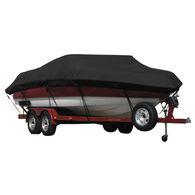 Exact Fit Covermate Sunbrella Boat Cover for Hydra Sport 171/7M Walleye  171/7M Walleye W/Shield W/Port Troll Mtr O/B. Black