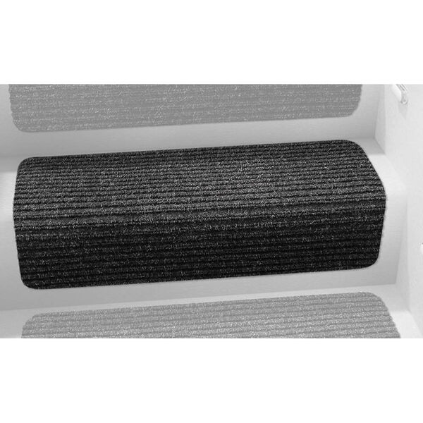 "Decorian Step Huggers for Stairs, 13.5"", Black Granite"