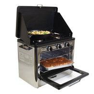 Camp Chef Deluxe Outdoor Camping Oven and 2-Burner Stove