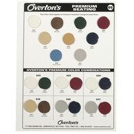 Overton's Premium Boat Seat Vinyl Sample Card