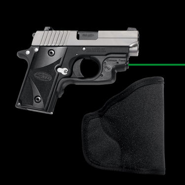 Crimson Trace LG-492GH Green Laserguard with Pocket Holster - Sig Sauer P238/P93