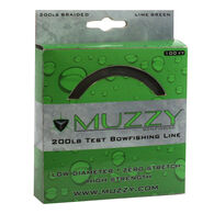 Muzzy Bowfishing Lime Green Braided Bowfishing Line, 200-lb. Test