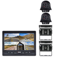 RVS Backup Camera System with Quad View Monitor