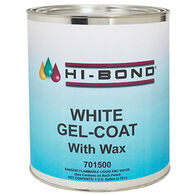 Hi-Bond White Gel Coat With Wax, Pint