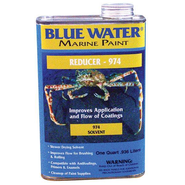 Blue Water Thinner 974, Quart