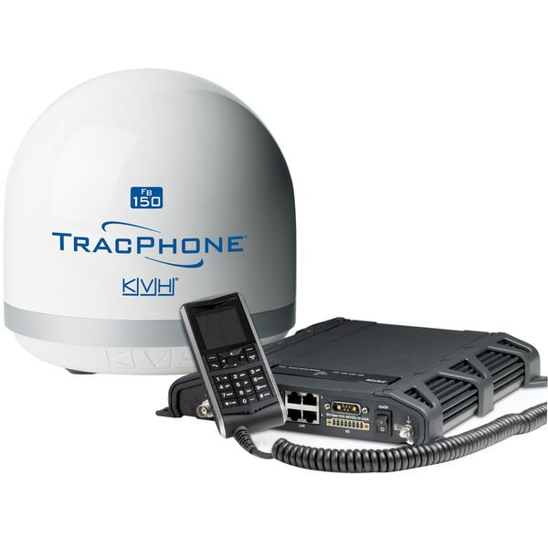 KVH TRACPHONE FB150 COMPACT W 32FT CABLE