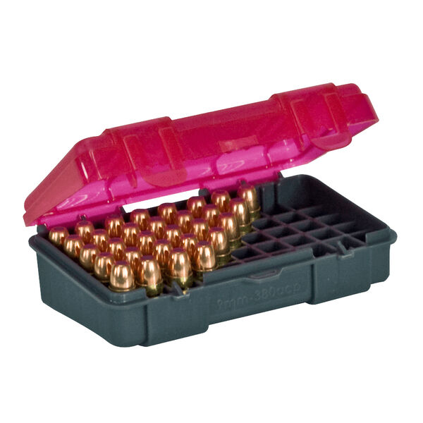 Plano 50-Round Small Handgun Ammo Case, 9mm/.380 ACP