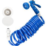 Dura Faucet RV Exterior Quick Connect Spray Dock Kit, Blue