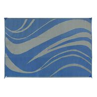 Reversible Wave Mat, 8 x 11--Navy
