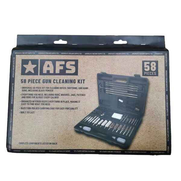 AFS 58 Pc. Gun Cleaning Kit