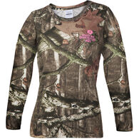 Mossy Oak Women's Camo Long-Sleeve Tee