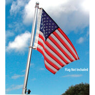 "TaylorMade Deluxe Stainless Steel Flag Pole, 30""H"