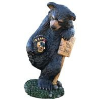"""Design House Wipe Your Paws Bear, 24"""" Tall"""
