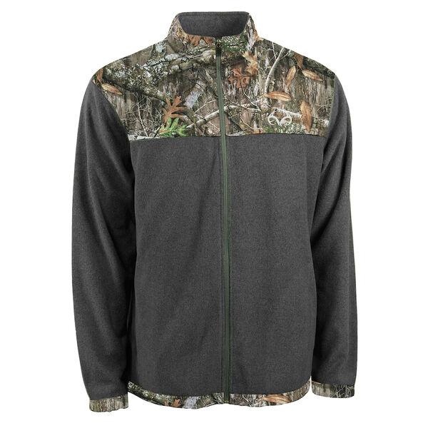 Realtree Men's Recon Full-Zip Fleece Jacket