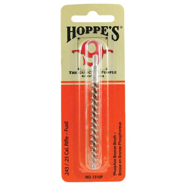 Hoppe's Phosphor Bronze Rifle Bore Brush, .243/.25 Cal.