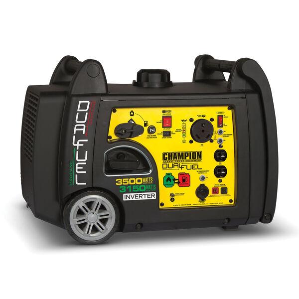Champion 3500-Watt Dual Fuel Inverter Portable Generator
