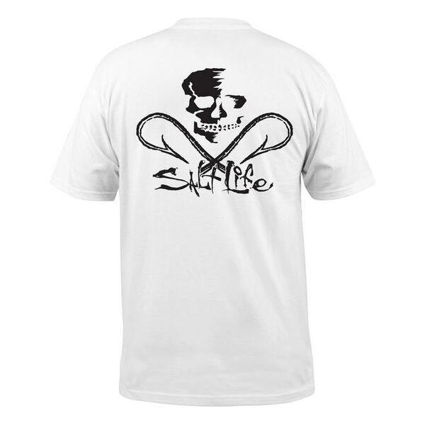 Salt Life Men's Skull and Hooks Pocket Short-Sleeve Tee
