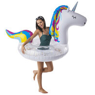 Big Mouth Giant Sparkling Unicorn Pool Float