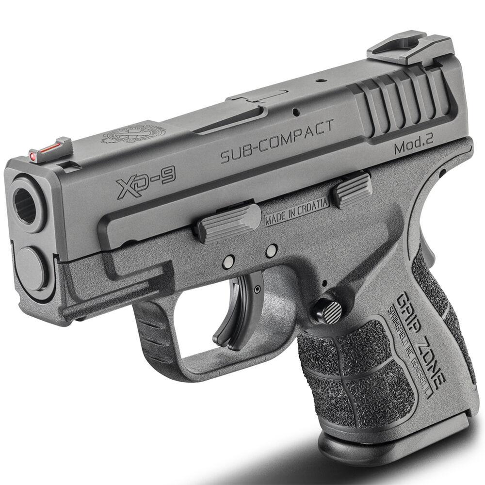 Springfield XD Mod 2 3'' Sub-Compact Handgun, 9mm Luger, 16 Rd , Black