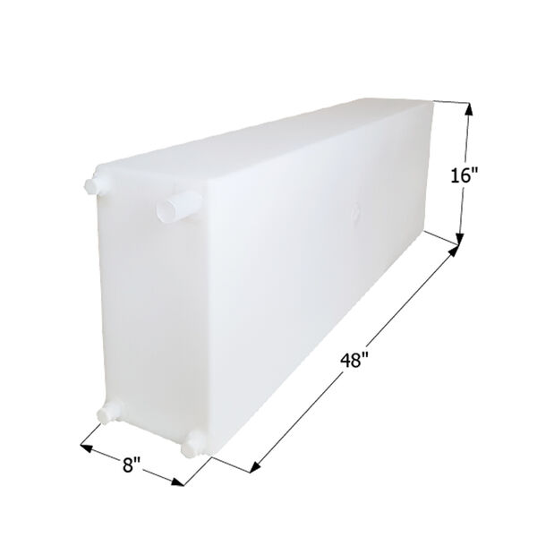 """ICON Technologies WT2469 Freshwater Tank with 1/2"""" Fittings, 25 Gallons"""