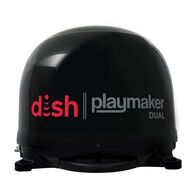 DISH® Playmaker® Dual Portable Satellite Antenna, Black