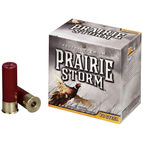 "Federal Premium Prairie Storm FS Steel Ammo, 20 Gauge, 3"", 7/8 oz., #3"