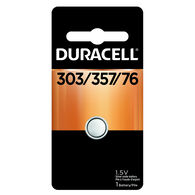 Duracell 303/357 1.5V Silver Oxide Button Cell Battery