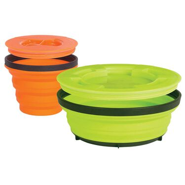 Sea to Summit X-Seal & Go Camp Dinnerware Set, Small