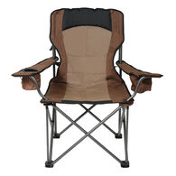 Adjustable Lumbar Chair, Brown