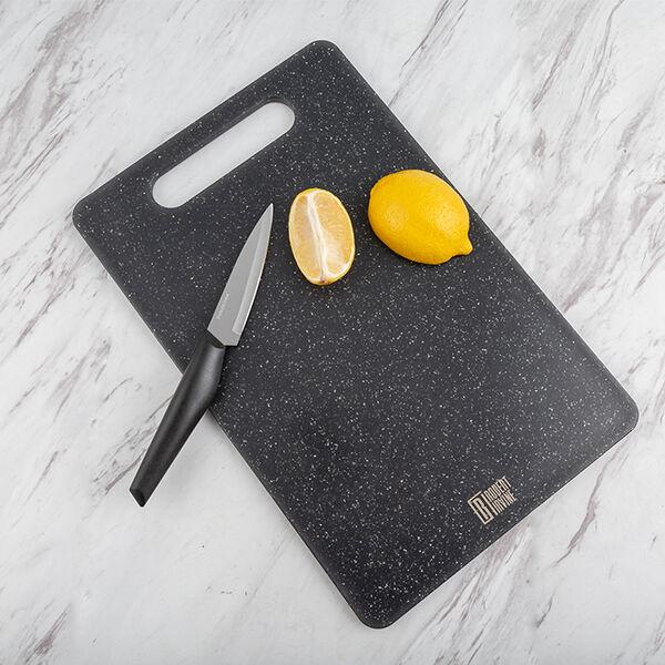 Robert Irvine 3-Piece Granite-Look Cutting Board Set