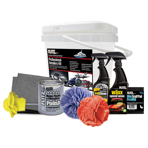 Flitz Professional Detailers Kit With Bucket