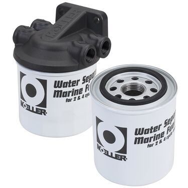 Moeller Universal Water Separating Fuel Filter Kit With Two Filters