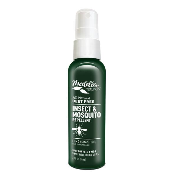 Medella Natural DEET Free Insect Repellent, 2 oz.