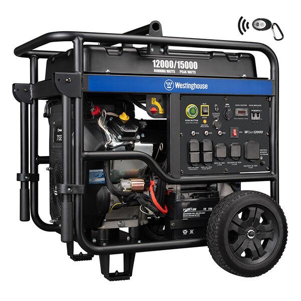Westinghouse WGen12000 15,000/12,000 Watt Gas Portable Generator