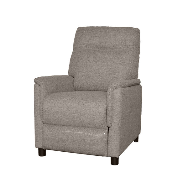 Kathy Ireland Furniture Push-Back Recliner, Stone