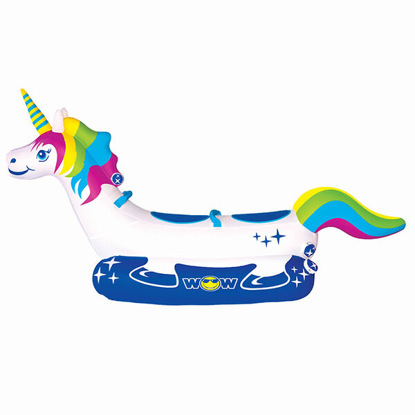 WOW Unicorn 2-Person Towable Tube