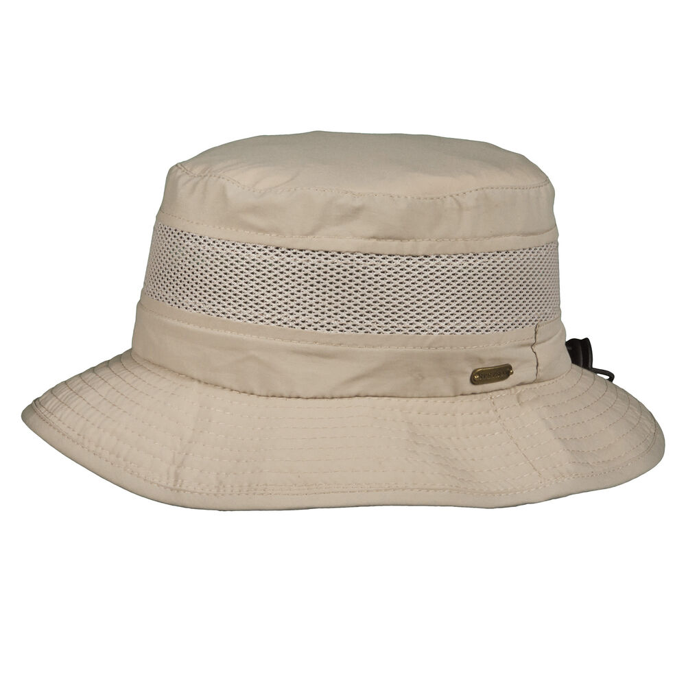 1cf27433f55 Dorfman Pacific Men s No Fly Zone Mesh Boonie Hat