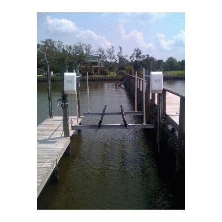 Lunmar Boat Lifts Back Motor Cover