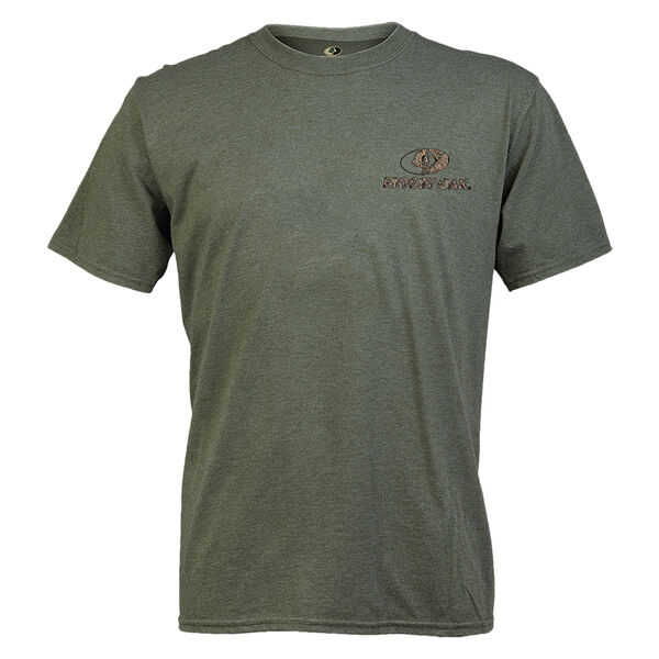 Mossy Oak Men's Short-Sleeve Tee - Heather City Green