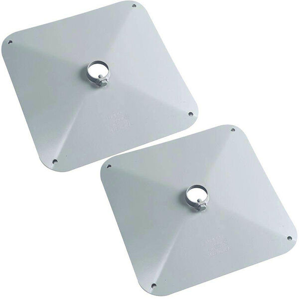 """Tommy Docks Muck Footpad 14"""" Square - Normal Duty (2-Pack)"""