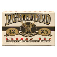 "Lightfield Hybred Exp Slugs, 12-ga., 2-3/4"", 1-1/4 oz., Sabot"