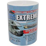 "Quick Roof Extreme Repair Tape, Bright White, 6"" x 25'"