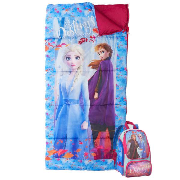 Youth Frozen Sleeping Bag & Backpack Set