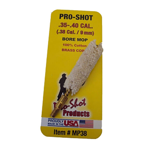 Pro-Shot Rifle Bore Mop, .35/40 Cal.