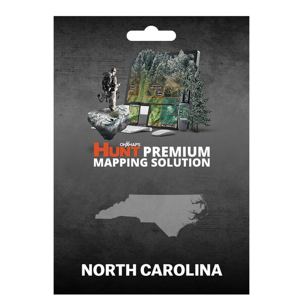 onXmaps HUNT GPS Chip for Garmin Units + 1-Year Premium Membership, N. Carolina