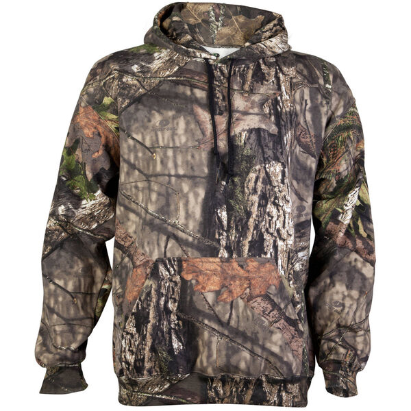 Mossy Men's Camo Pullover Hoodie - Shadow Grass Blades