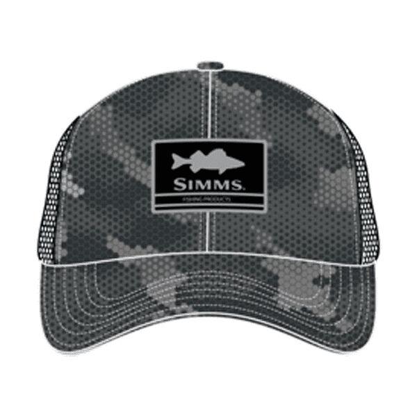 Simms Walleye Patch Trucker Hat