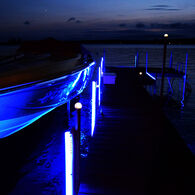 Jellux LED Dock Bumper Kit w/Four 5' Bumpers