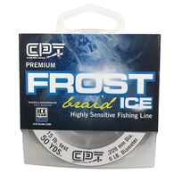 Clam Pro Tackle Frost Ice Braided Line, 50 Yards