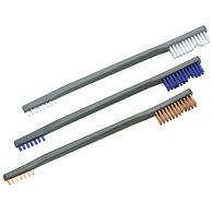Otis 3-Pack All-Purpose Gun Cleaning Brushes, Nylon/Blue Nylon/Bronze